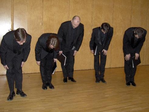 Lis integrantes de Valaam: un coro que no se debe usted perder. Foto: Carlos M. Estefanía