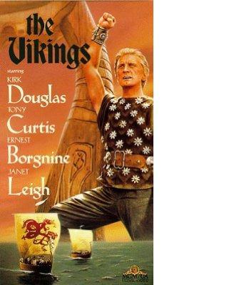 """Afiche de la película """"Los Vikingos"""""""
