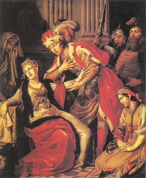 Rogned pretendida por Vladimir, cuado de Anton Losenko, 1770