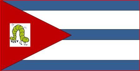 "Bandera Gusana tomada de ""Gusaneando"""