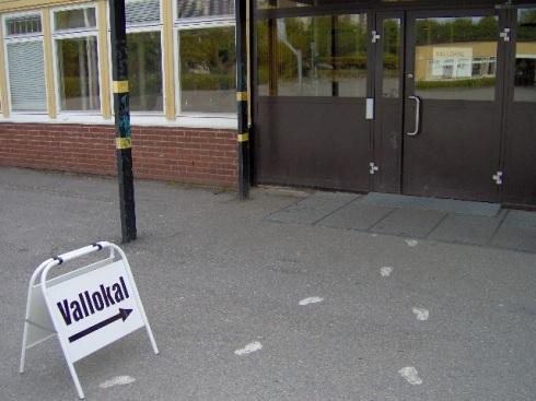 Es en esta escuela donde me toca votar