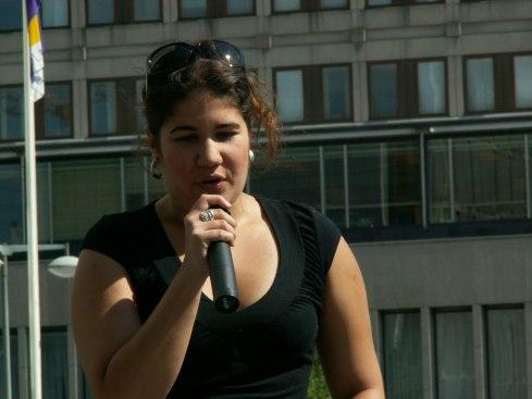 Mae Liz Orrego. Foto: Germán Díaz Guerra