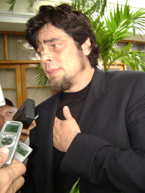 Del Toro en La Habana. Fotografía: Mayra Gómez Fariñas