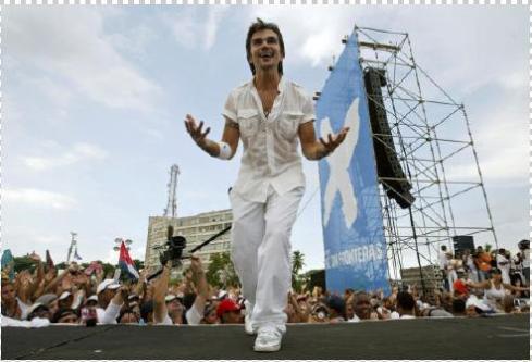 Juanes en La Habana, 20 de diciembre de 2008