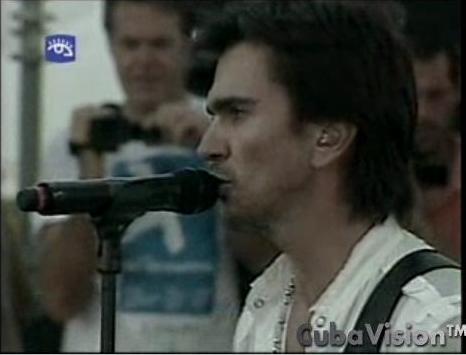 Juanes en La Habana, transmitido para el mundo por la televisión cubana