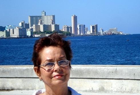 Miriam Léiva, una entre los muchas voces disidentes que desde Cuba pusieron pie en tierra por la celebración del concierto, Paz sin Fronteras