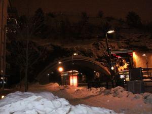 Volví sobre mis pasos buscando la estación. Foto: Carlos M. Estefanía