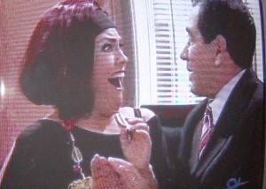 Pareja de adulteros en la TV de Miami.Foto:Carlos M. estefanía