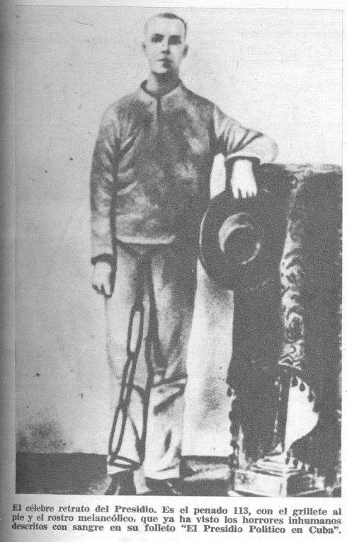 Resultados de las imágenes para Martí presidio político
